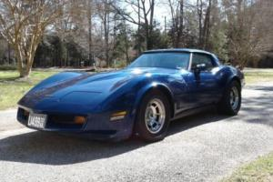 1981 Chevrolet Corvette T Top