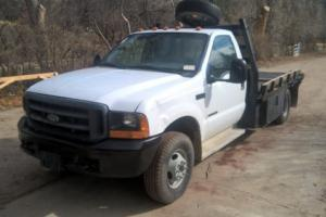 2000 Ford F-350 flatbed 11 ft