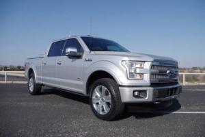 2016 Ford F-150 Platinum Technology Long Bed 4x4