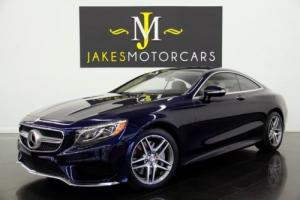 2016 Mercedes-Benz S-Class S550 Coupe 4MATIC Sport Pkg. DESIGNO($140K MSRP)