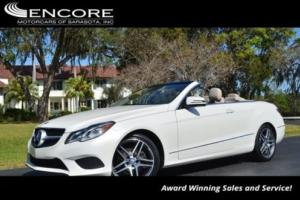2014 Mercedes-Benz E-Class 2dr Cabriolet E350 RWD W/Sport and Premium 1 Packa