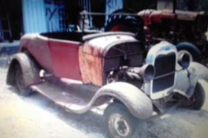 ford a model roadster all steel no paypal
