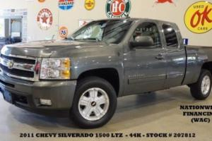 2011 Chevrolet Silverado 1500 LTZ Z-71 4X2 BACK-UP CAM,HTD LTH,44K,WE FINANCE