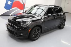 2014 Mini Countryman COOPER  S ALL4 AWD AUTO LEATHER