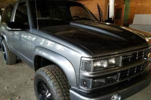 1999 Chevrolet Tahoe 2 Door Full Restoration