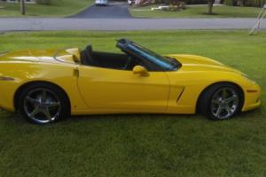2008 Chevrolet Corvette CONVERTIBLE Photo