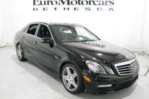 2010 Mercedes-Benz E-Class 4dr Sedan E63 AMG RWD