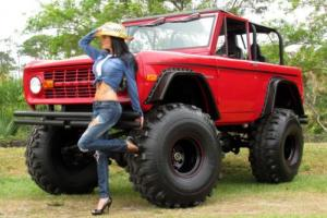 1977 Ford Bronco FORD EARLY BRONCO MONSTER 4WD SHOW TRUCK