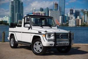 2015 Mercedes-Benz G WAGON CONVERTIBLE G550