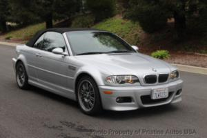 2003 BMW M3 2003 BMW M3 convertible 6-speed manual