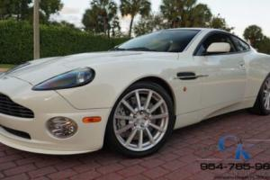 2006 Aston Martin Vanquish COUPE SUPER RARE ONLY 3,519 MILES LIKE NEW!