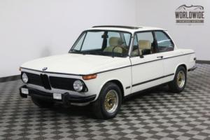 1973 BMW 2002 RARE OZX VERNA PACKAGE. 4 SPEED!