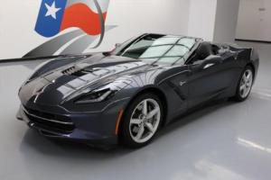 2014 Chevrolet Corvette STINGRAY CONVERTIBLE 2LT HUD