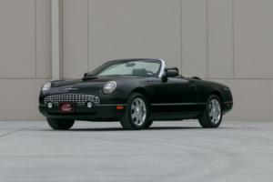 2002 Ford Thunderbird 25k Original Miles Photo
