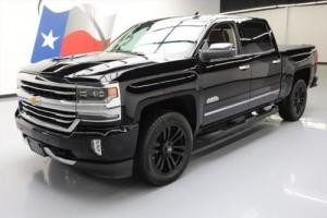 2017 Chevrolet Silverado 1500 SILVERADO HIGH COUNTRY CREW 4X4 NAV 20'S