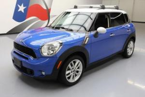 2013 Mini Countryman COOPER S AUTO TURBO BLUETOOTH