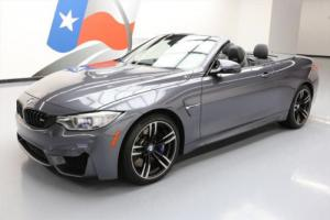 2016 BMW M4 CONVERTIBLE TURBO NAV HTD SEATS 19'S