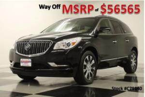 2017 Buick Enclave MSRP$56565 Premium AWD Sunroof DVD Black