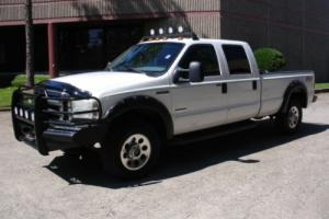 2006 Ford F-350 XLT FX4 4X4 CREW CAB DIESEL TOW PACKAGE RANCH HAND