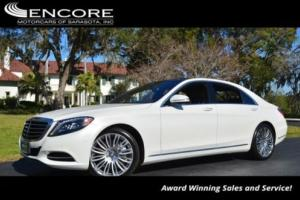 2015 Mercedes-Benz S-Class 4dr Sedan S550 4MATIC W/P1 and Navigation