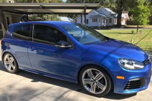 2012 Volkswagen Golf R Manual