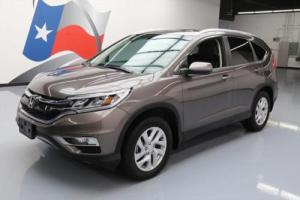 2015 Honda CR-V EX-L HTD LEATHER SUNROOF REAR CAM