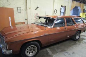 Holden Kingswood**NO RESERVE**Wagon HX,11/ 1976 madel, Manual 6 Cylinder