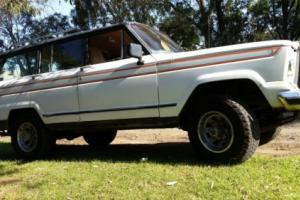 AMC JEEP CHEROKEE 1984 WAGON 360 V8 AUTO DUAL FUEL VGC SUIT 4X4 ENTHUSIAST