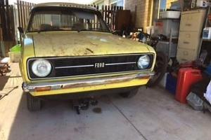 Ford Escort Mk2 2 Door Coupe.  Rare Early 1976 Shell & Auto Tunnel