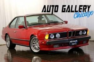 1988 BMW M6 Coupe