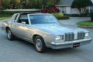 1978 Oldsmobile Cutlass SUPREME - ONE OWNER - 65K MILES