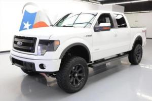 2014 Ford F-150 CREW FX4 4X4 ECOBOOST NAV LIFTED