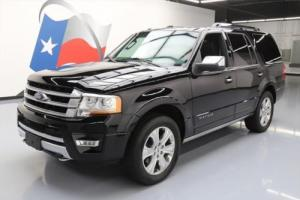2016 Ford Expedition PLATINUM 4X4 ECOBOOST SUNROOF NAV!