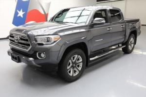 2017 Toyota Tacoma LTD DBL CAB LEATHER SUNROOF NAV