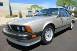 1985 BMW 6-Series Photo