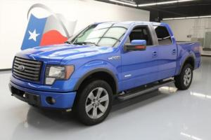 2012 Ford F-150 FX4 4X4 CREW ECOBOOST SUNROOF NAV