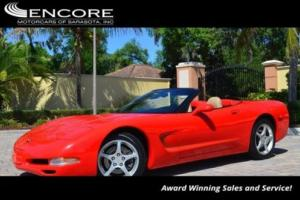 2000 Chevrolet Corvette 2dr Convertible W/Head Up Display