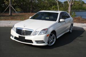 2013 Mercedes-Benz E-Class 13 E350 SEDAN 4MATIC (AWD) WITH AMG + RARE OPTIONS