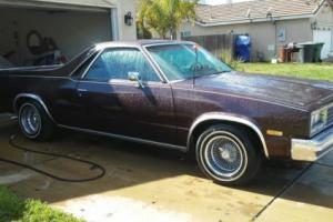 1983 Chevrolet El Camino Photo