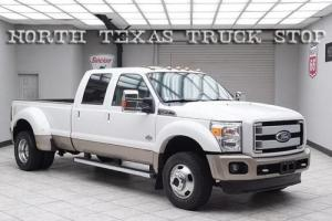 2011 Ford F-450 King Ranch 6.7L Nav Sunroof Cooled Seats