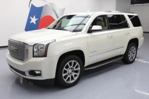 2015 GMC Yukon DENALI 4X4 7-PASS SUNROOF NAV DVD
