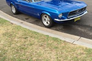 mustang 1967 coupe Gt 390 s code