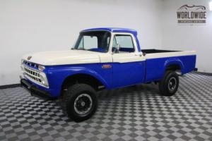 1965 Ford F100 RARE REAL 4X4 V8 RESTORED