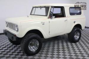 1964 International Harvester Scout 4X4 FULL REMOVABLE TOP