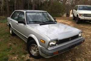 1983 Honda Civic Clear