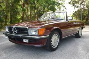 1986 Mercedes-Benz SL-Class 300SL Euro Model