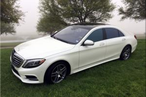2014 Mercedes-Benz S-Class S550 P1 PANO SUNROOF NAV 20'S Photo