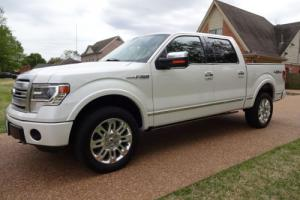 2013 Ford F-150 Super Crew Platinum 4X4