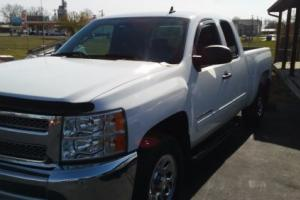 "2013 Chevrolet Silverado 1500 2WD Ext Cab 143.5"" LT Photo"