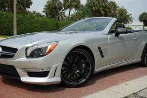 2014 Mercedes-Benz SL-Class SL63 AMG  $157,395 MSRP 1-OWNER CLEAN CARFAX ONLY 4K MILES!!